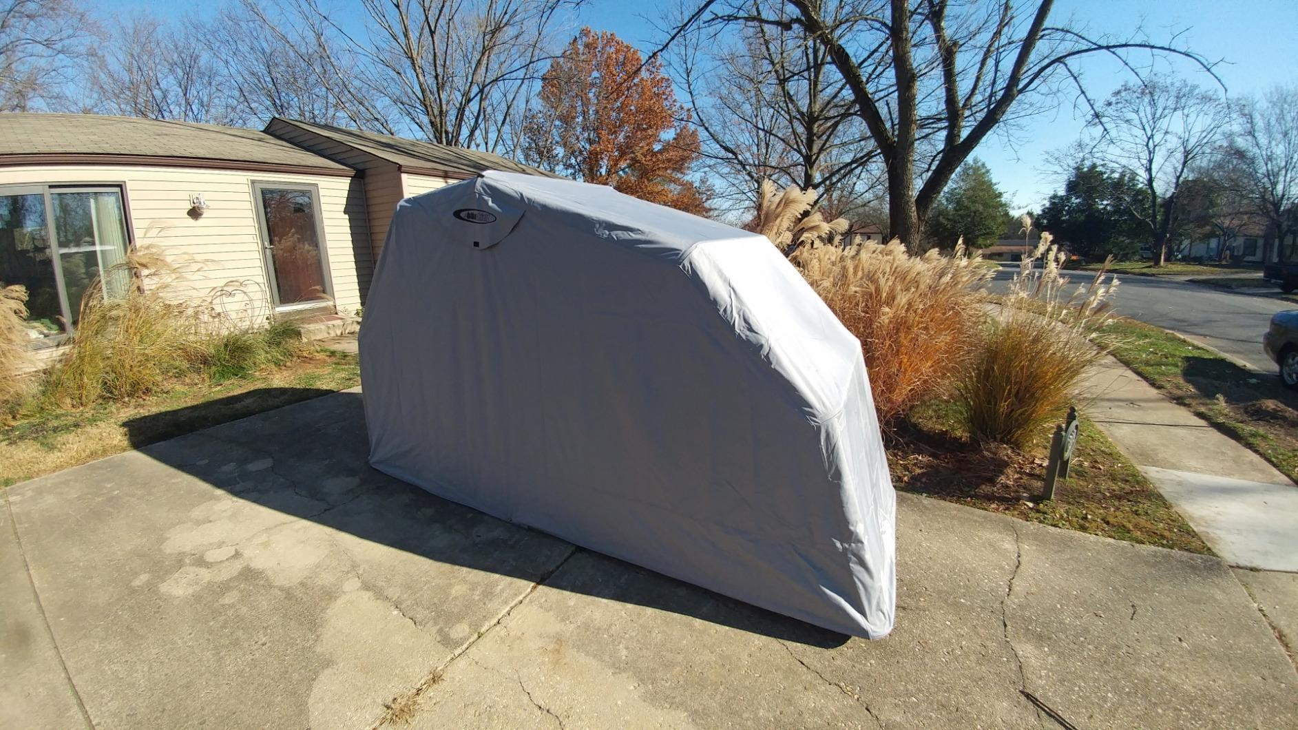 The Bike Shield - Motorcycle Shelter / Garage / Shed / Storage / Outdoor Cover / Cover / Protection / Tent & The Bike Shield - Motorcycle Shelter / Garage / Shed / Storage ...